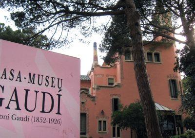 JARDINS I CASA MUSEU GAUDÍ