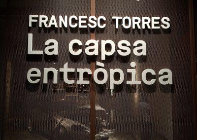 FRANCESC TORRES. LA CAPSA ENTRÒPICA